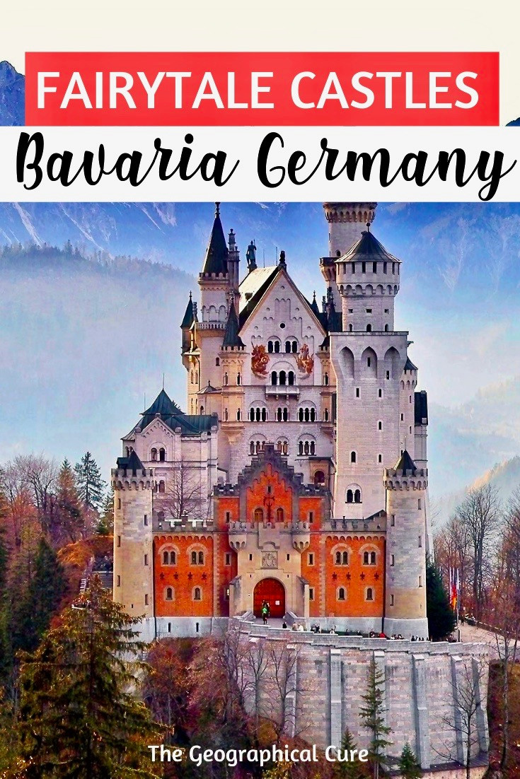 Fairytale Castle in Bavaria Germany