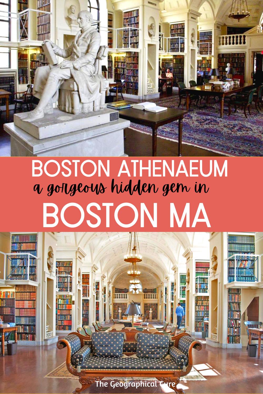 Guide to the Boston Athenaeum, a Beautiful Hidden Gem In Boston