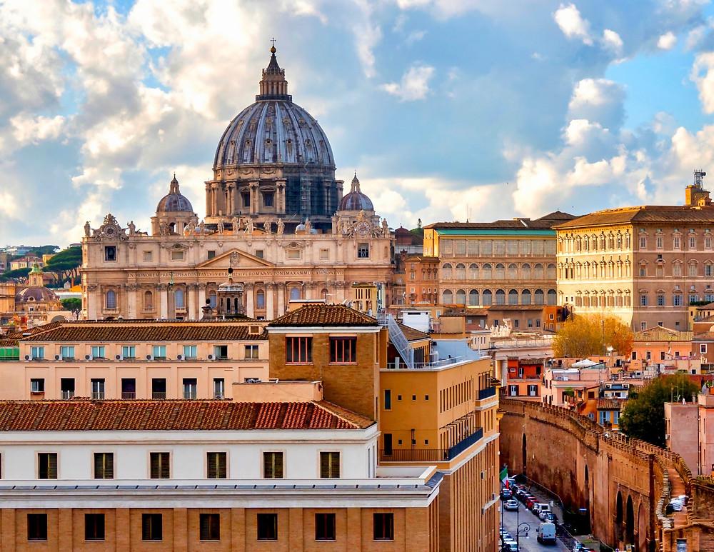 view of Vatican City