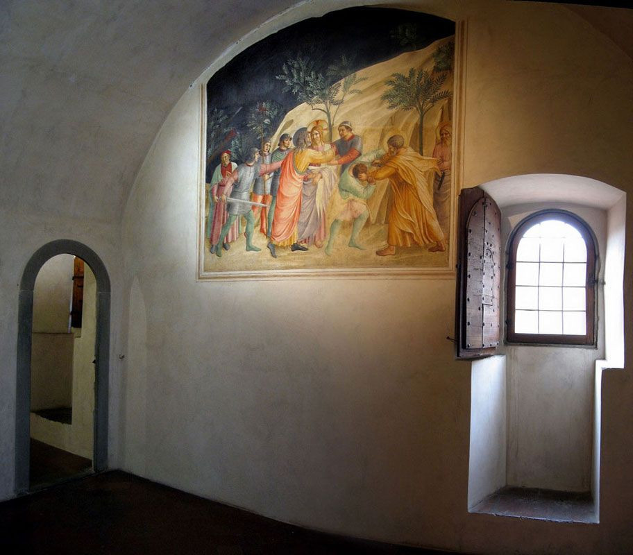 Fra Angelico's personal cell in San Marco Monastery
