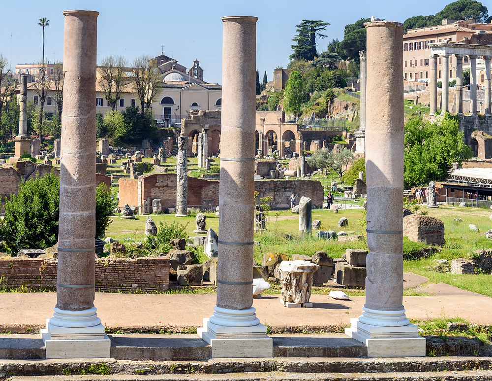 Fori Imperiali, a series of ancient public squares