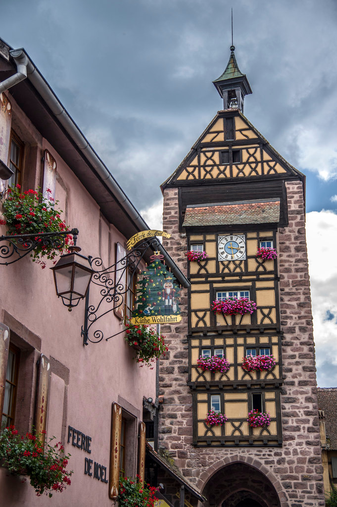 Le Dolder Tower in Riquewihr France