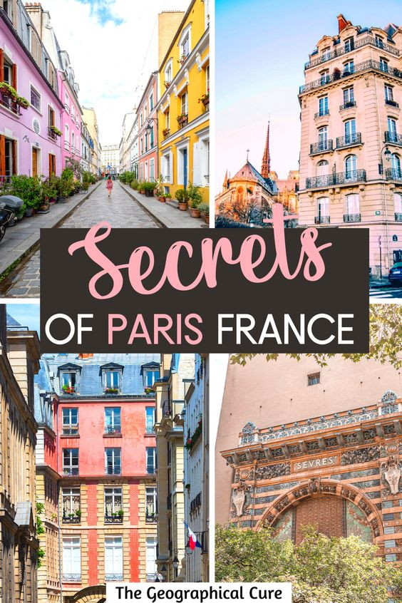ultimate guide to hidden gems and secret off the beaten path destinations in Paris