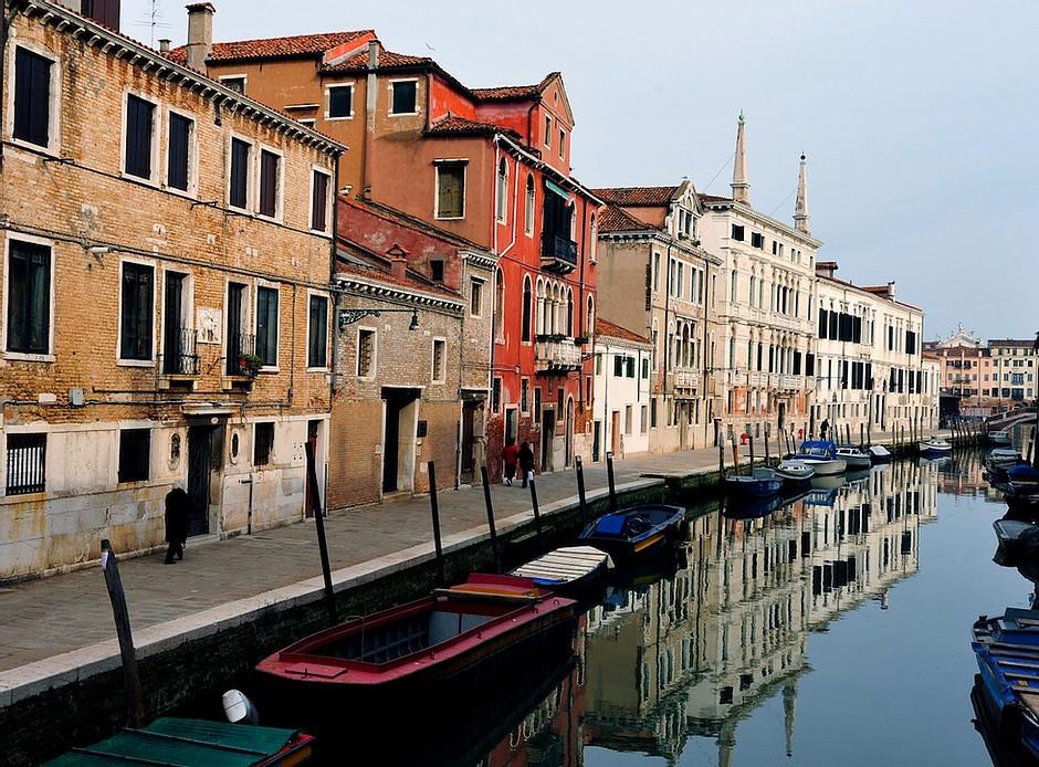 the Cannaregio neighborhood, Venice's old Jewish Quarter