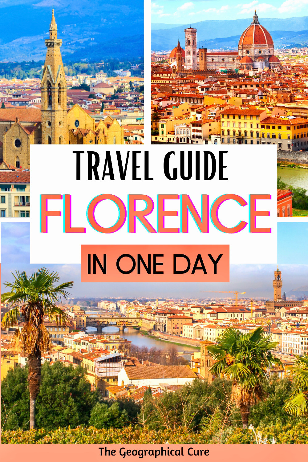 an epic one day itinerary for Florence, with all the city's must see sites
