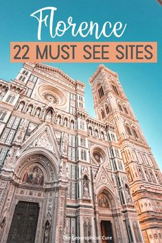 Amazing Must See Sites in Florence Italy