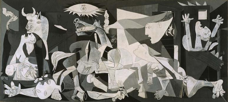 Pablo Picasso, Guernica, 1937 -- in the Reina Sofia