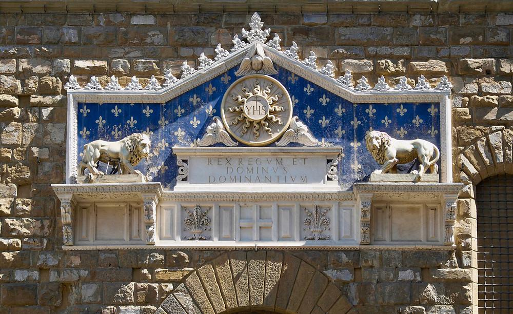 Gate of the Palazzo Vecchio