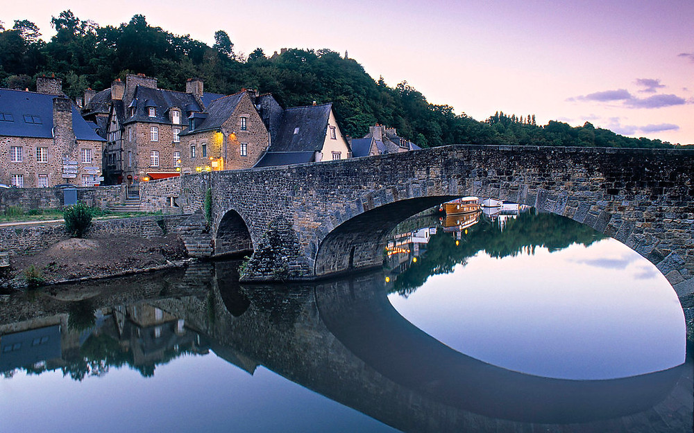 Dinan, one of Brittany's prettiest medieval towns