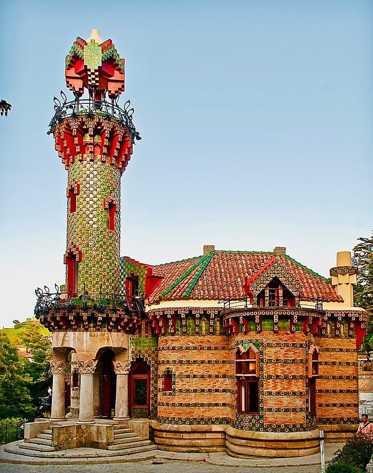 Antoni Gaudi's El Capricho in Comillas