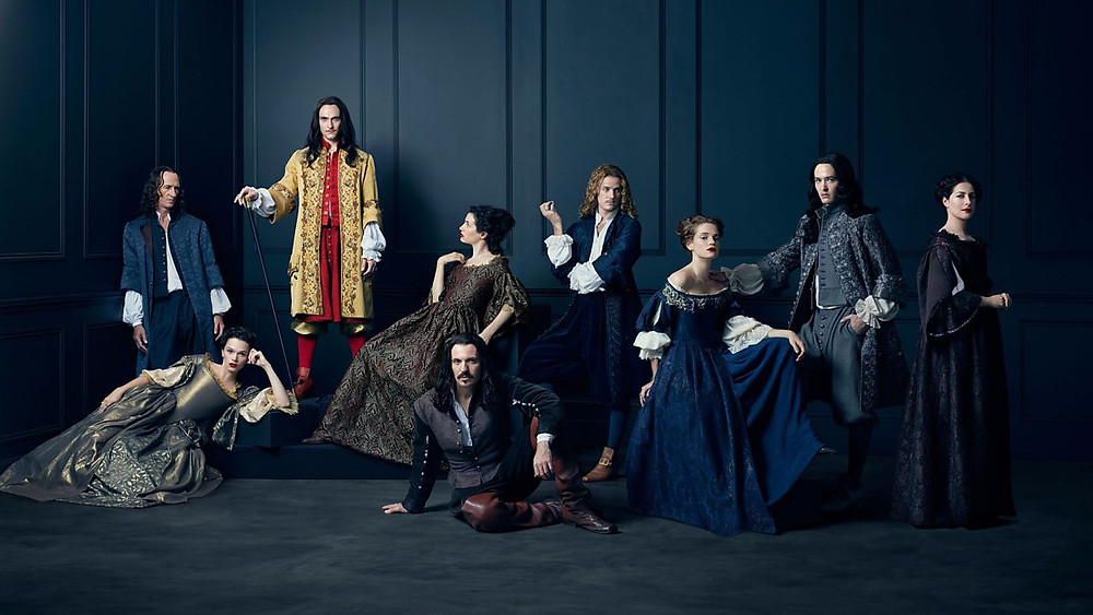 the cast of Versailles