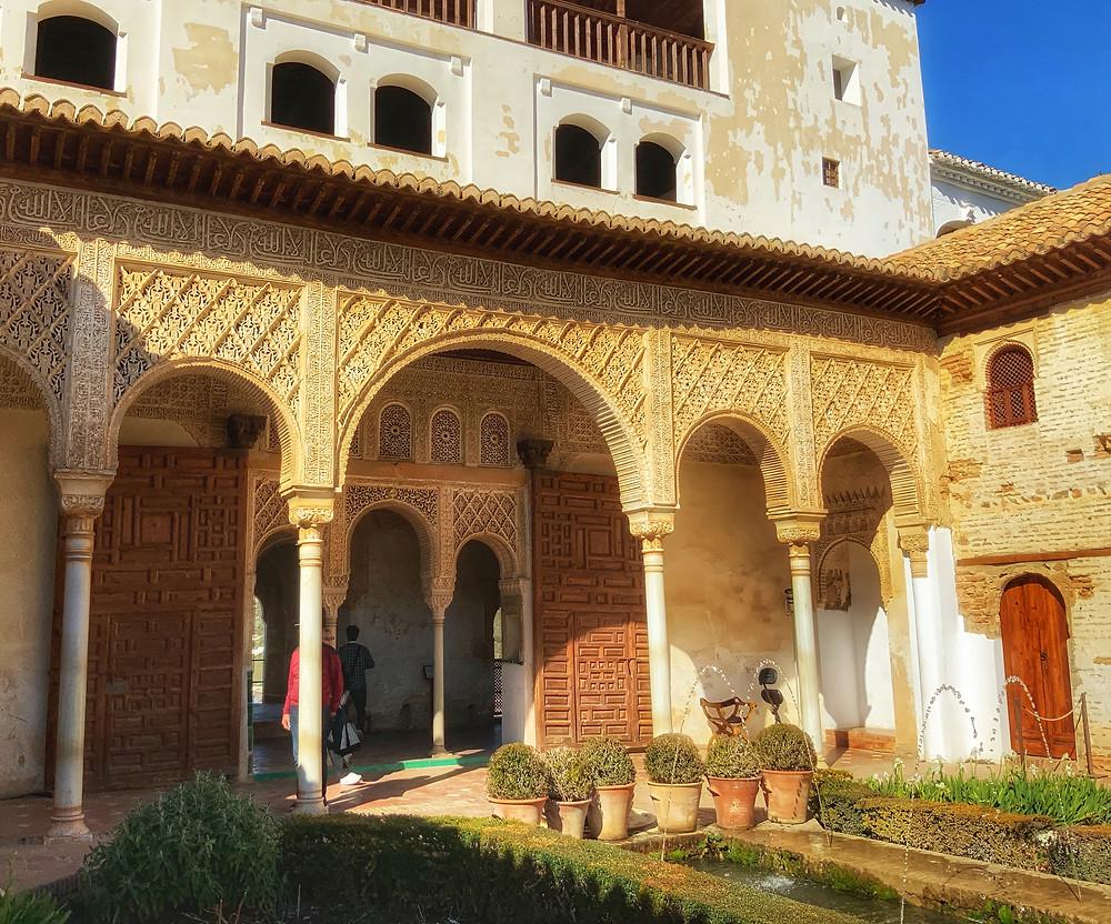 The Court of la Acequia in the Generalife Gardens