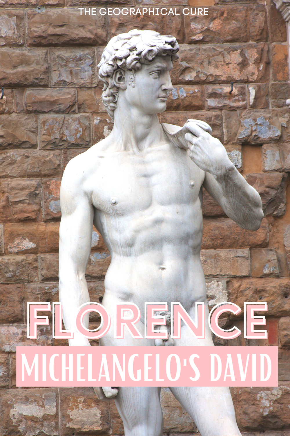 guide to seeing Michelangelo's David sculpture, a must see site in Florence