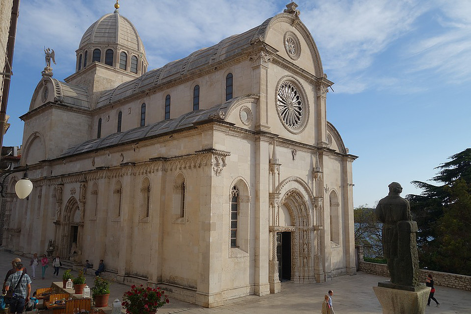 Sibenik Cathedral, a UNESCO-listed site outside Split