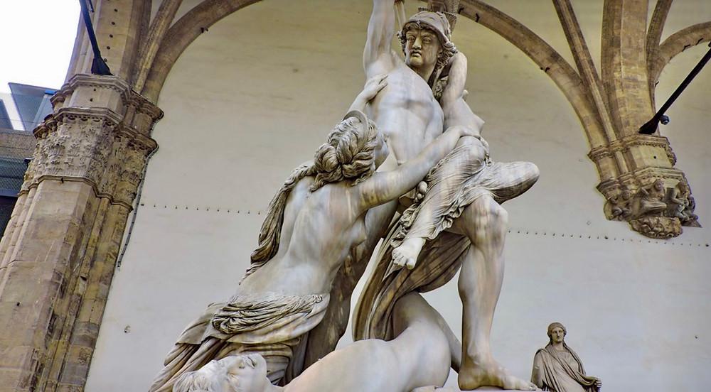 Pio Fedi, The Rape of Polyxena, 1868