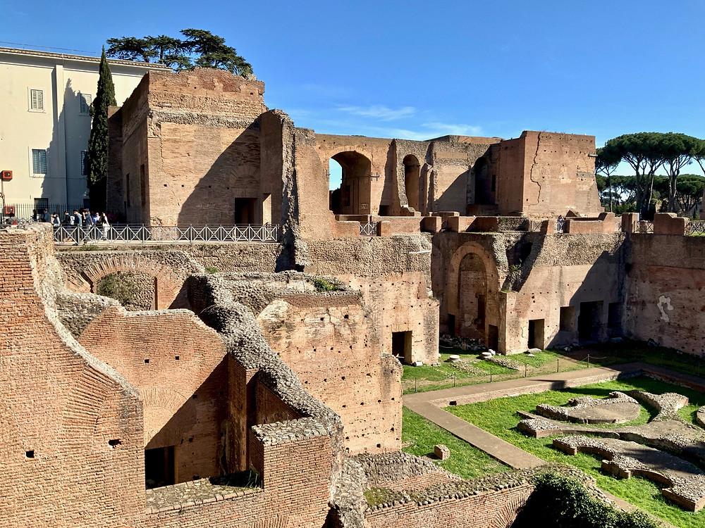 Domitian's Palace on Palatine Hill