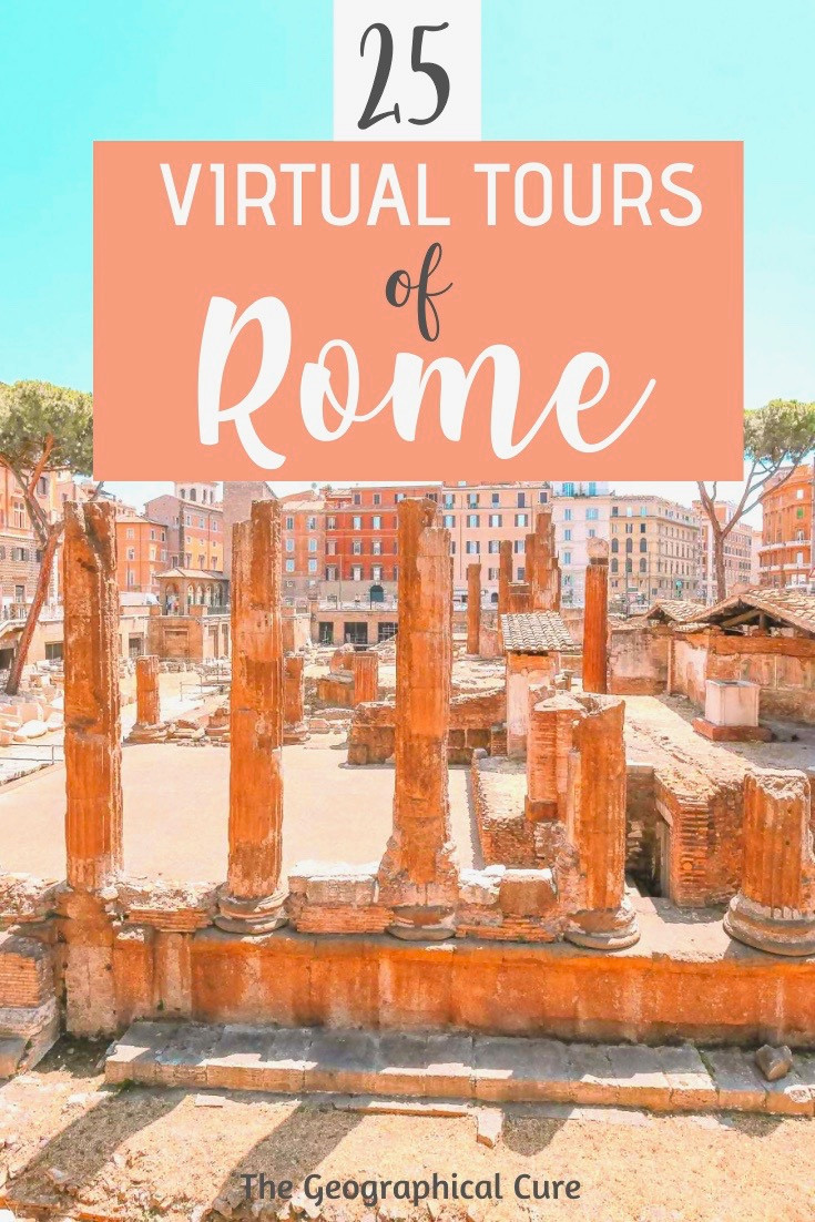 25 best virtual tours of Rome Italy