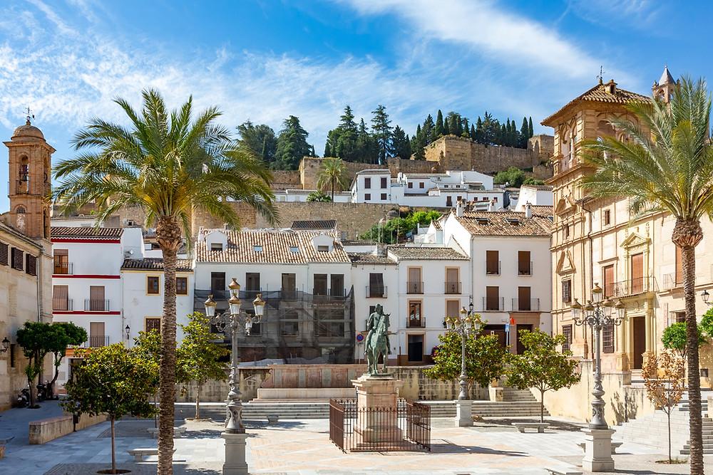 central square in Antequera