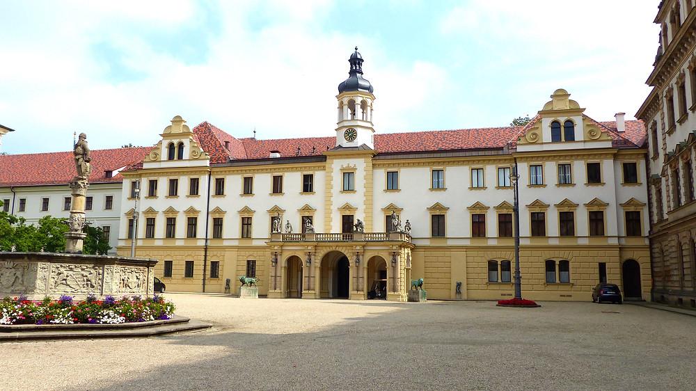 Schloss St. Emmermam, an unmissable site in Regensburg Germany