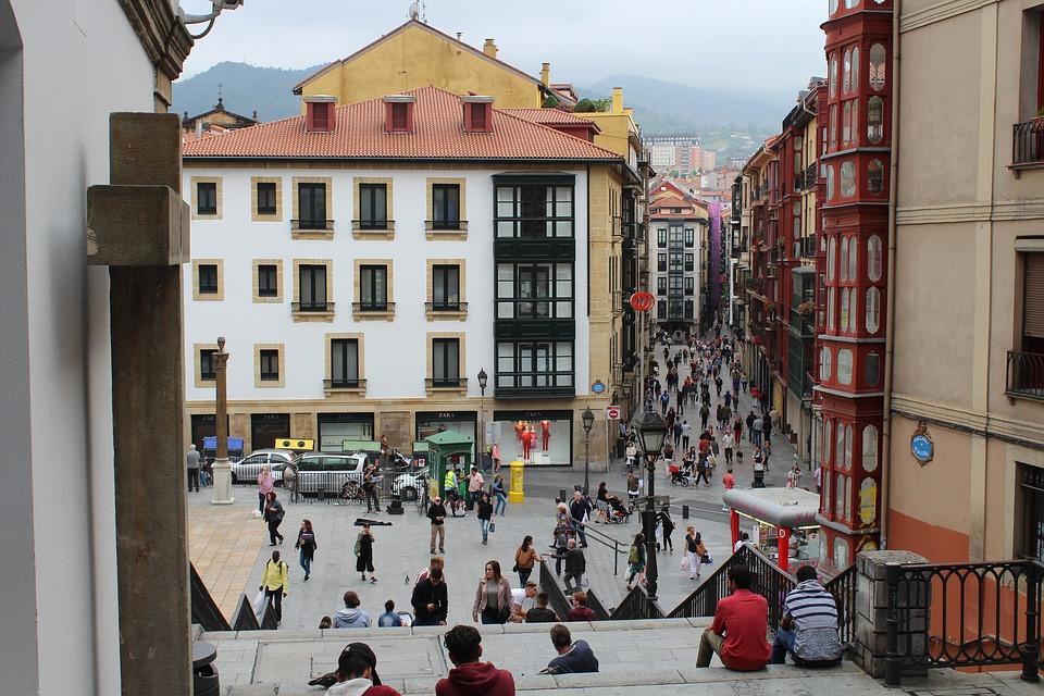 Casco Viejo, Old Town, Bilbao