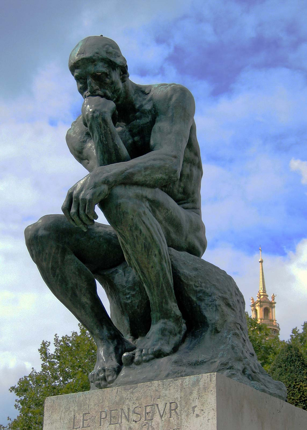 Auguste Rodin, The Thinker, 1902