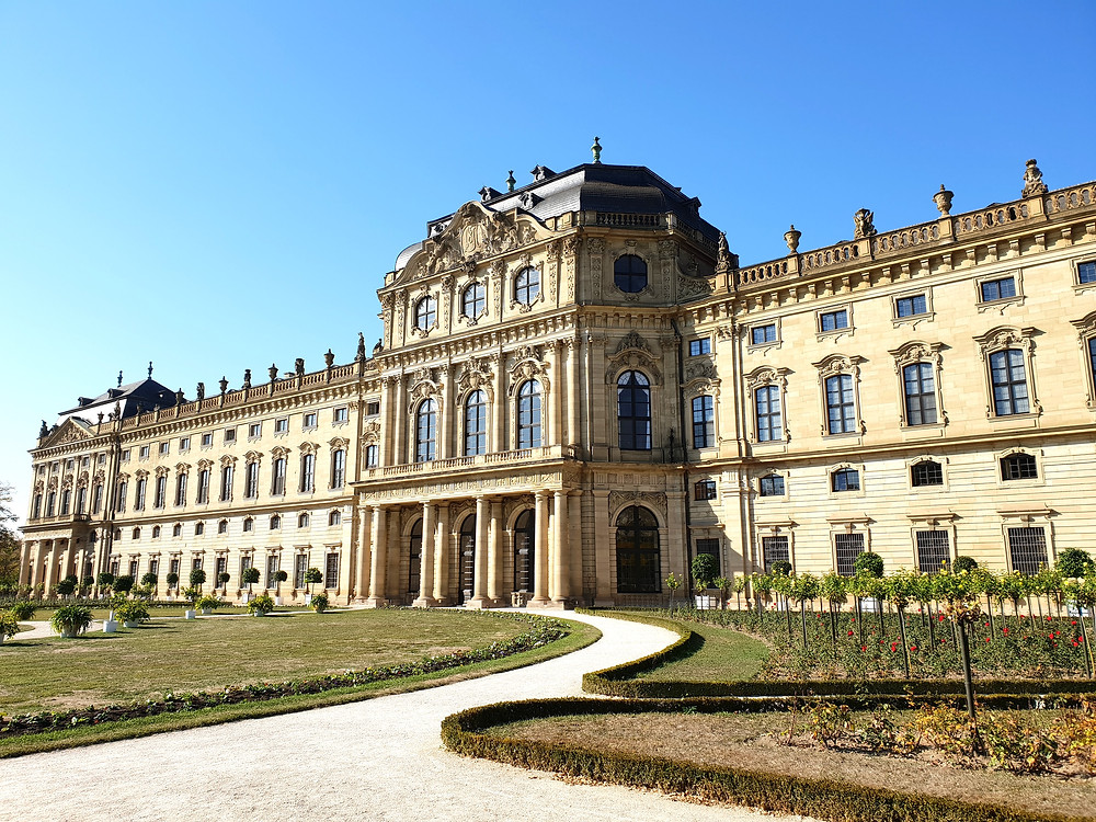 exterior of the Wurzburg Residenz