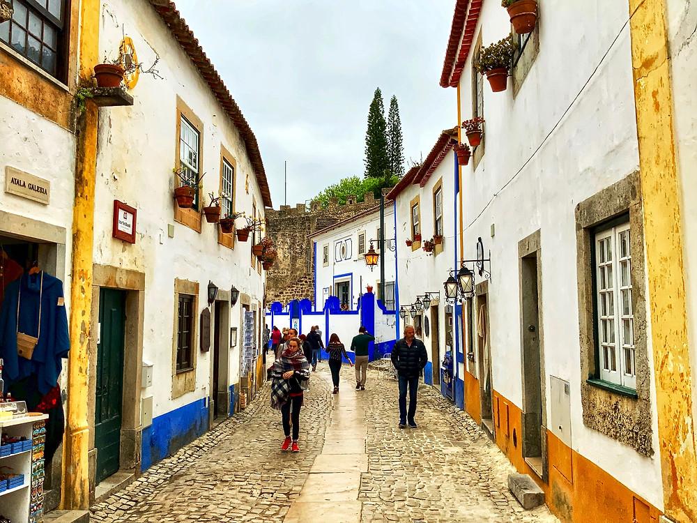 Rue Direita in Óbidos