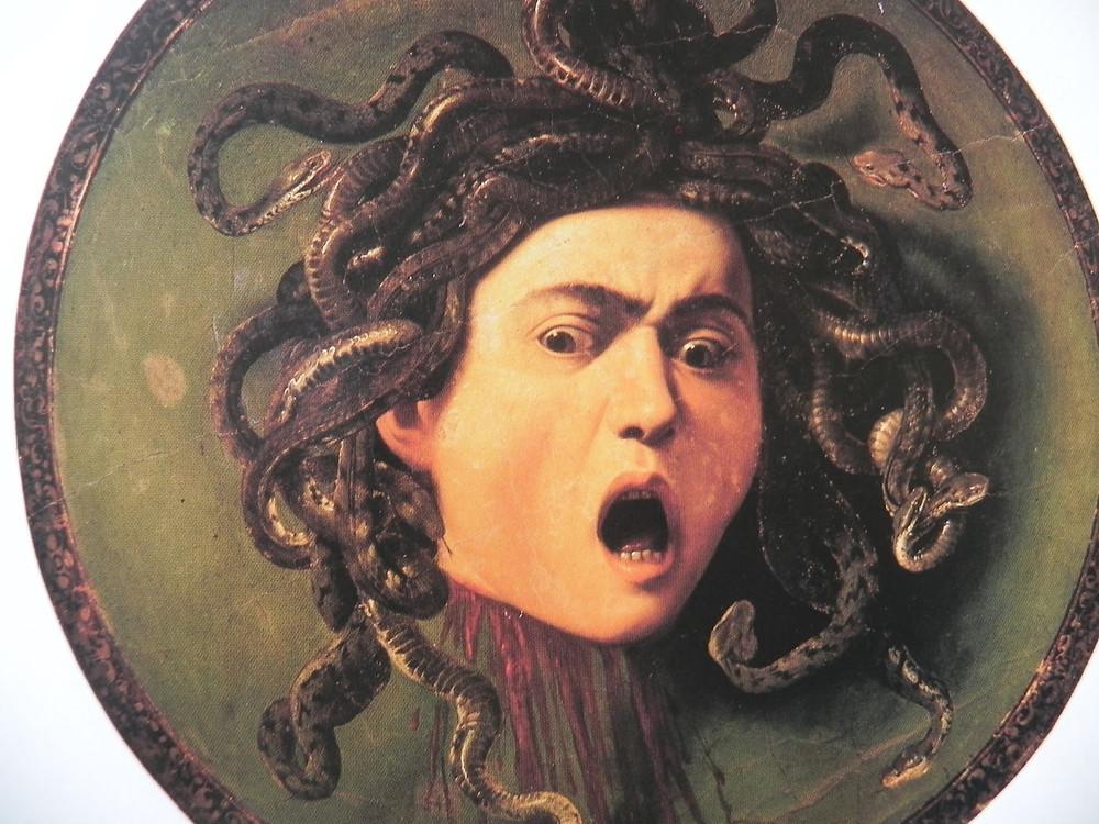 Caravaggio, Medusa, 1598