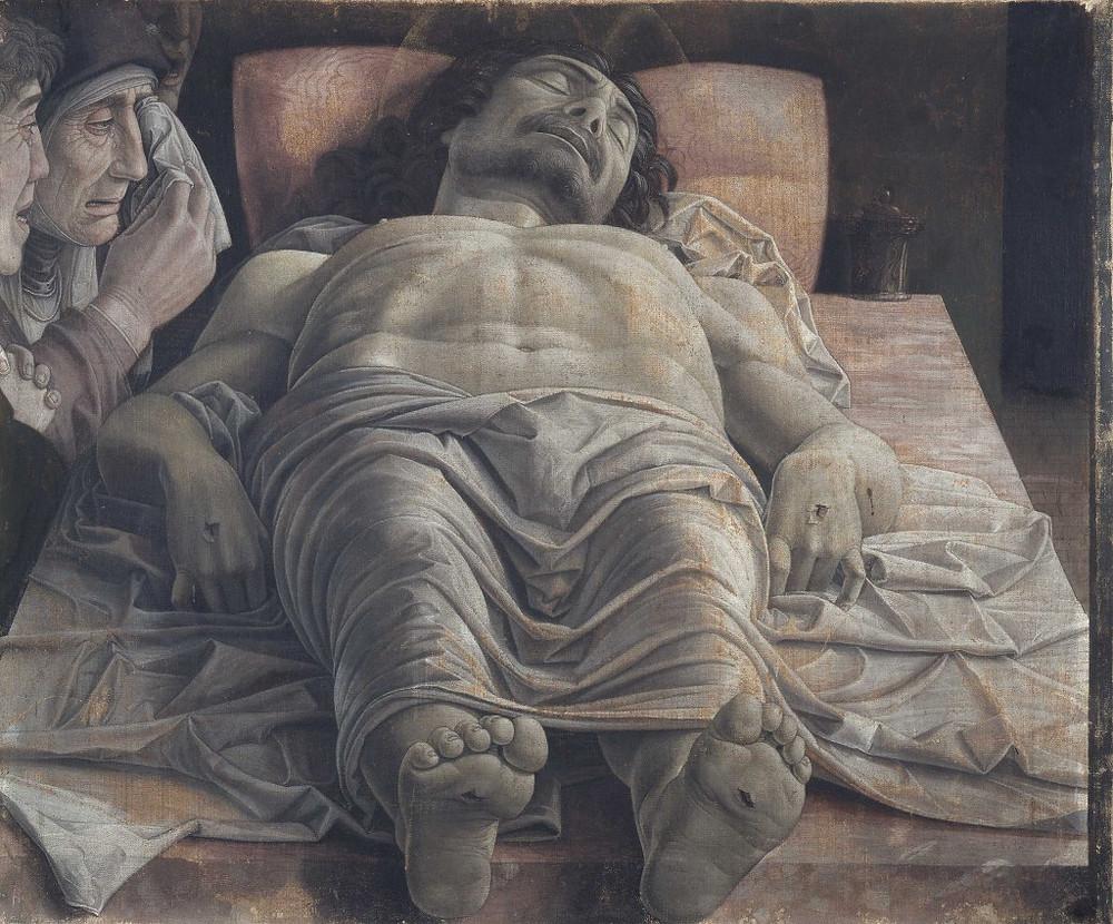 Andrea Mantegna's Lamentation of the Dead Christ, 1480