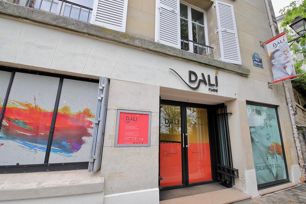 Dali Museum in Montmartre