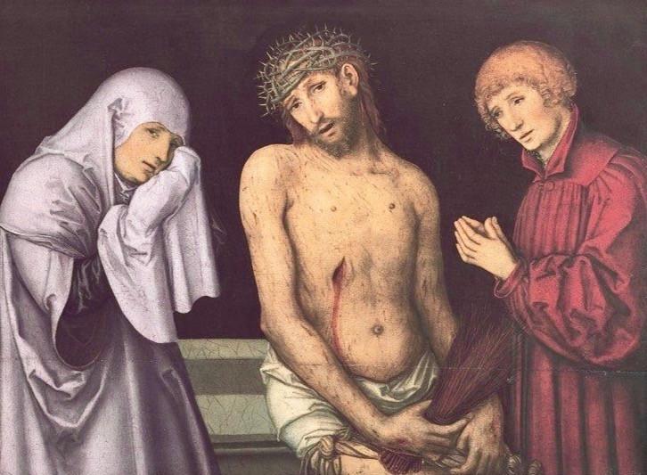 Lucas Cranach the Elder, Pieta, undated