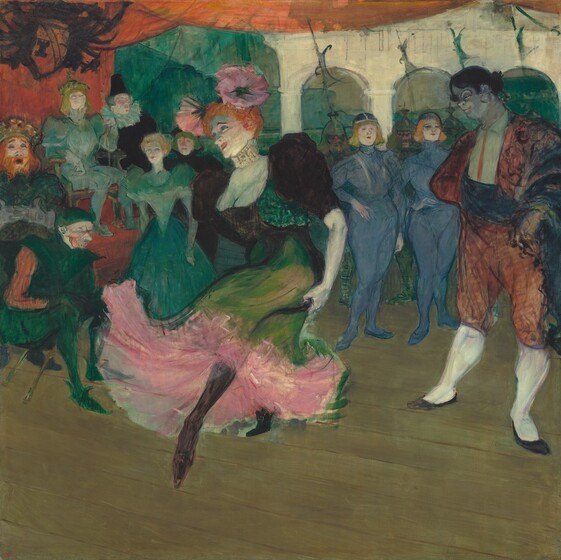 "Henri de Toulouse-Lautrec, Marcelle Lender Dancing the Bolero in ""Chilpéric"", 1895-1896"