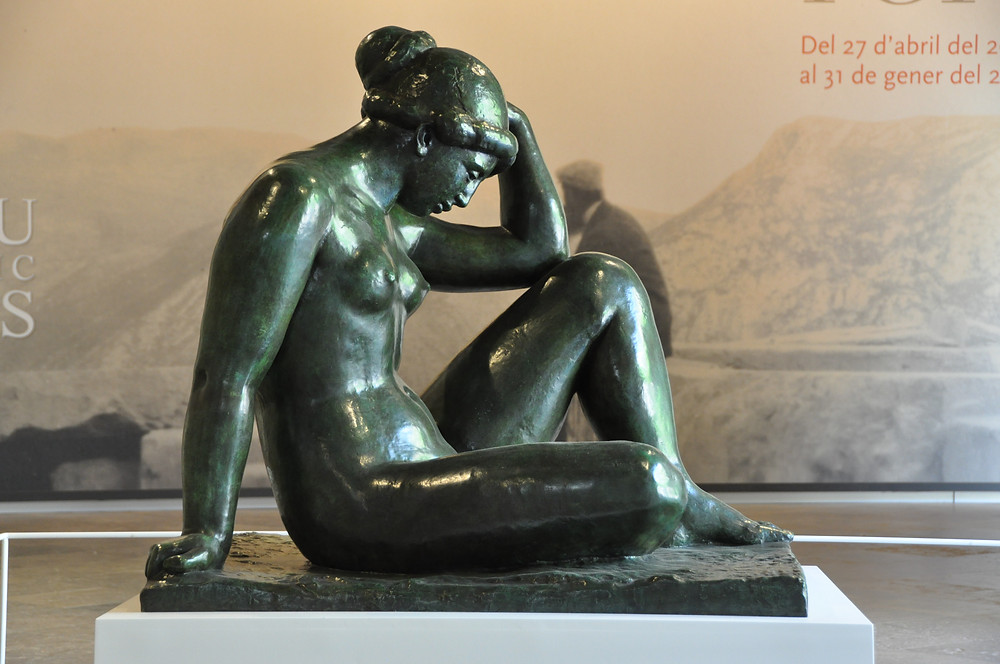 Aristide Maillol, The Mediterranean, 1905 -- in the Frederic Mares Museum