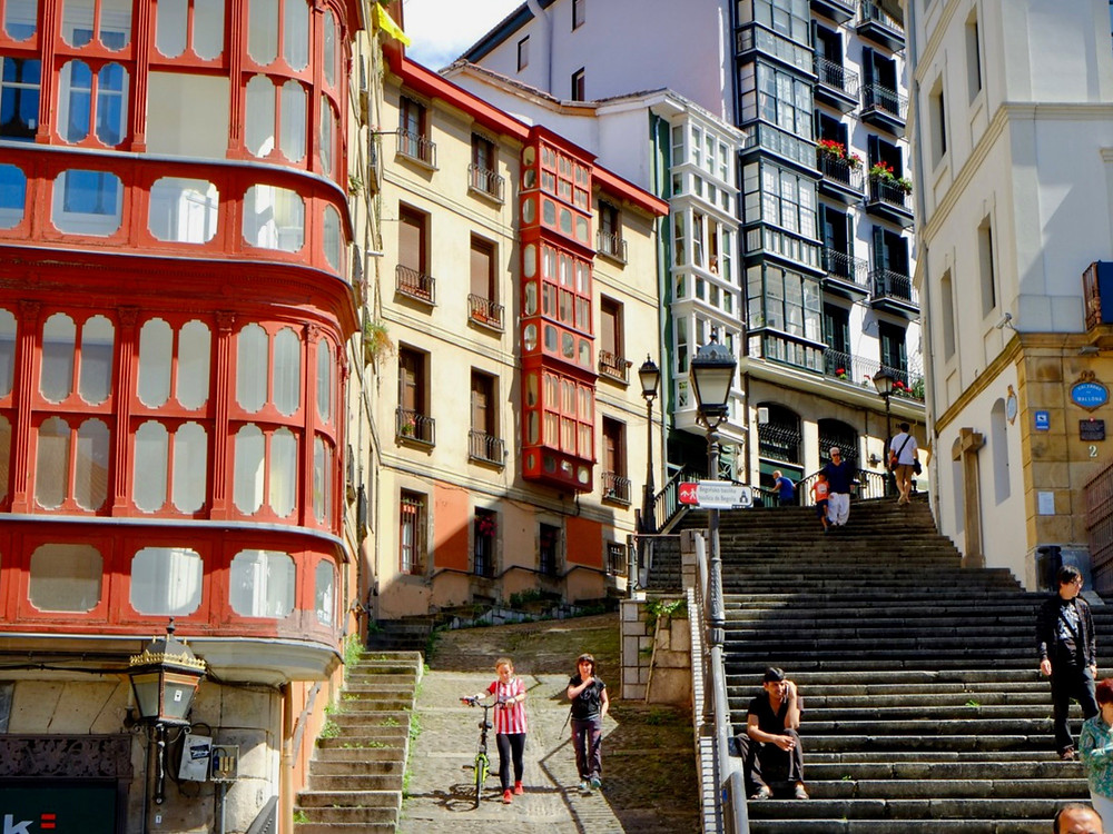 old town Bilbao