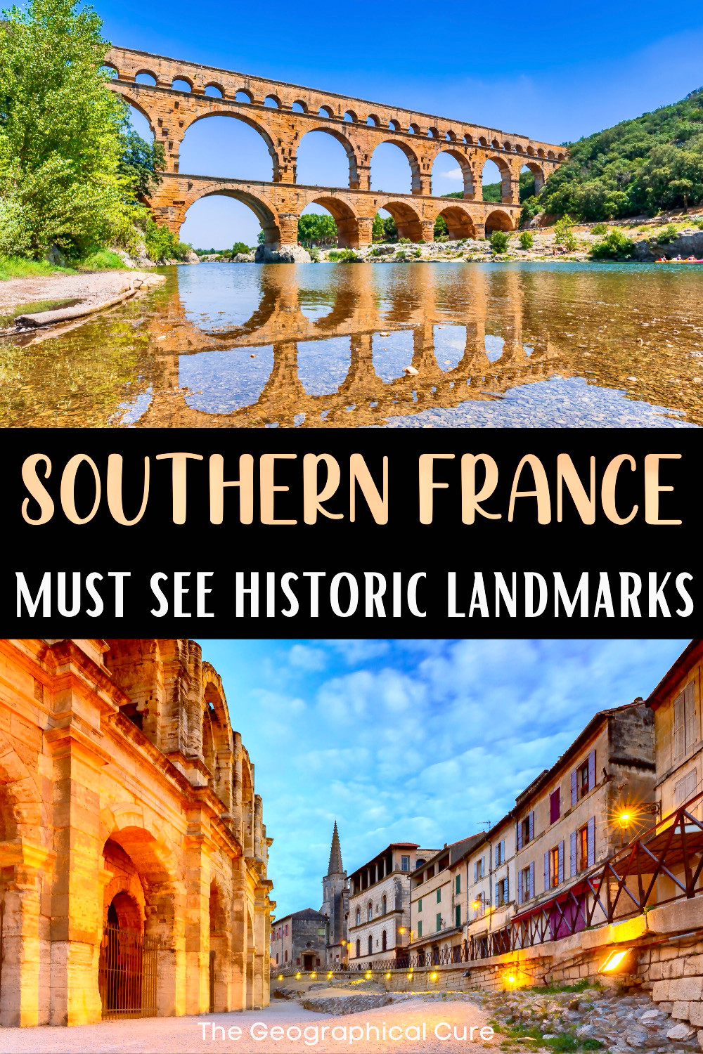 ultimate guide to must see attractions, landmarks, and monuments in Southern France