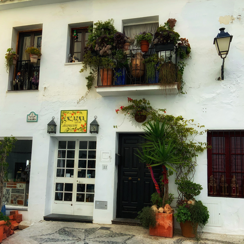 Artesania de Frigiliana, a ceramics shop in Frigiliana Spain
