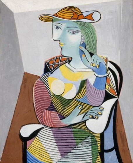 Portrait of Marie-Therese, 1937, by Pablo Picasso