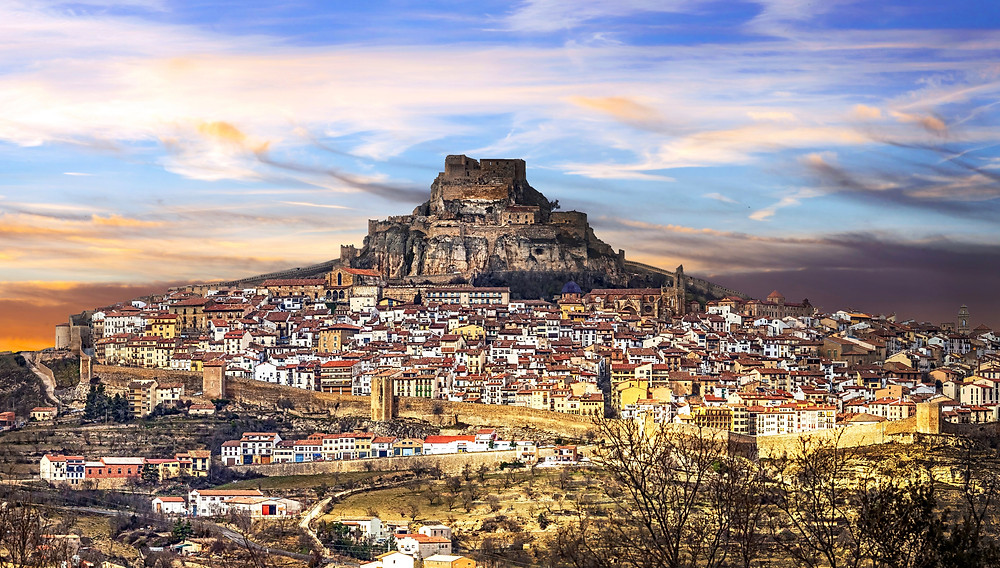 Morella and its fabulous castle