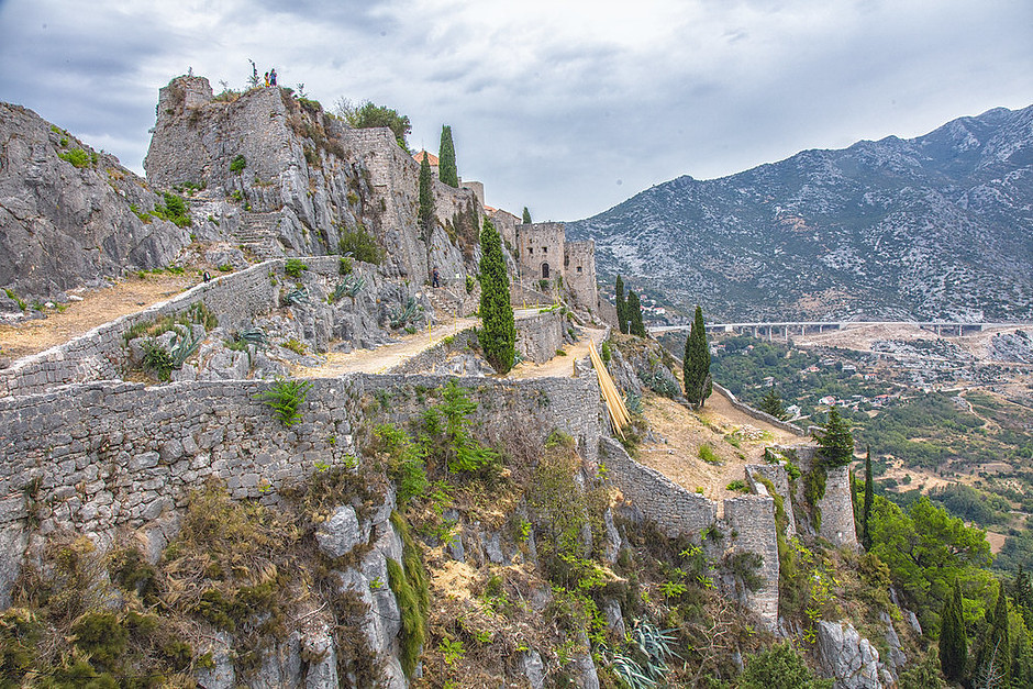 Klis Fortress, outside Split