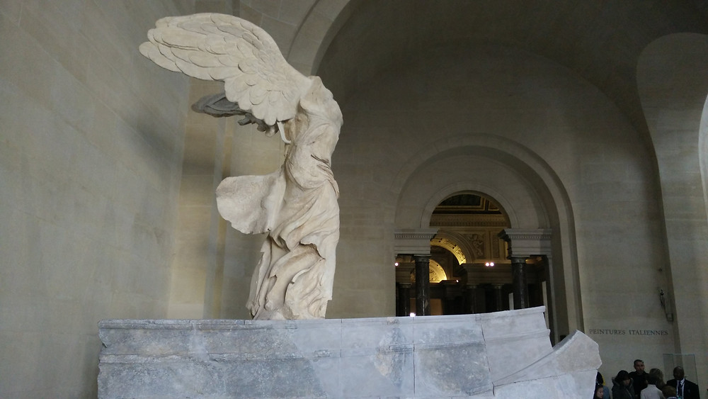 Winged Victory of Samothrace, 190 B.C. at the Louvre
