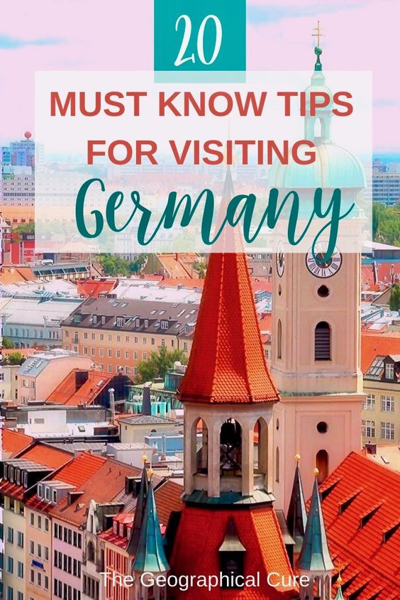 20 must know tips for visiting Germany
