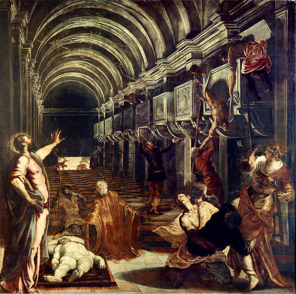Tintoretto, Discovery of the Body of St. Mark, 1562