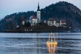 the magical sinking bell of Lake Bled Slovenia
