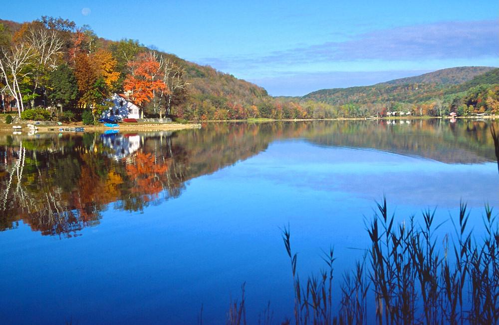 lake in the Berkshires