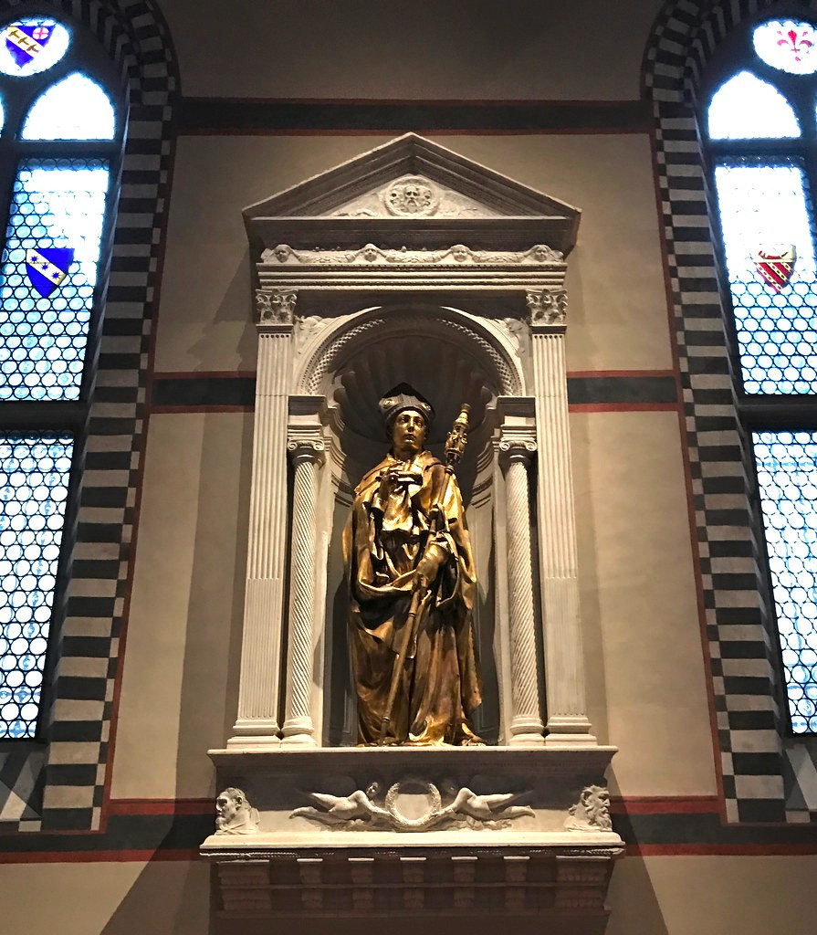 Donatello's St. Louis of Toulouse, his first bronze statue