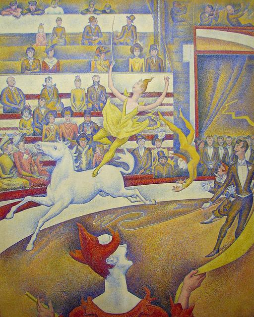 Georges Seurat, Circus, 1890-91
