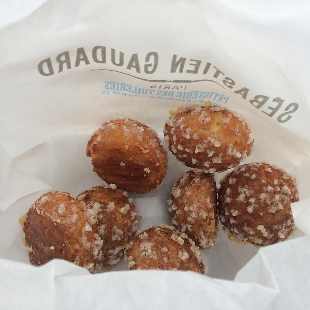 Couquettes from Sebastien Gaudard