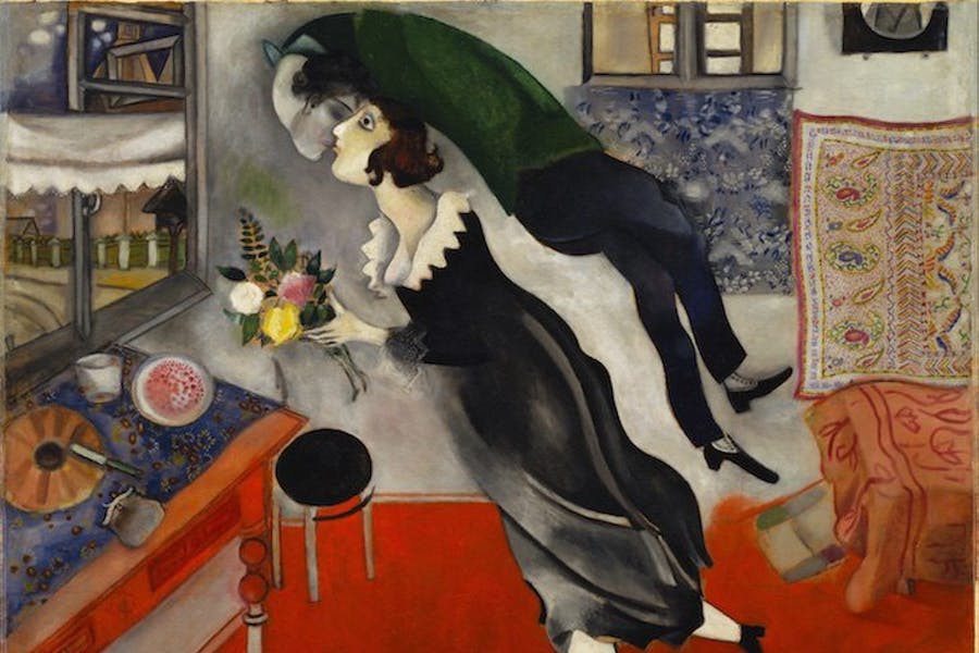 Marc Chagall, The Birthday, 1915