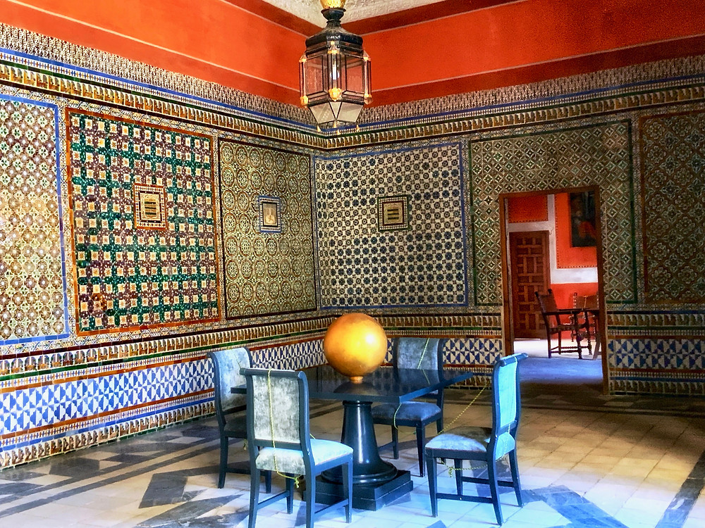 the Judge's Rest Room in Casa de Pilatos