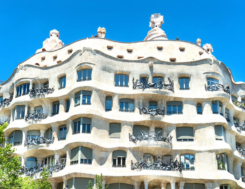 Gaudí's La Perera, aka Casa Mila, in Barcelona